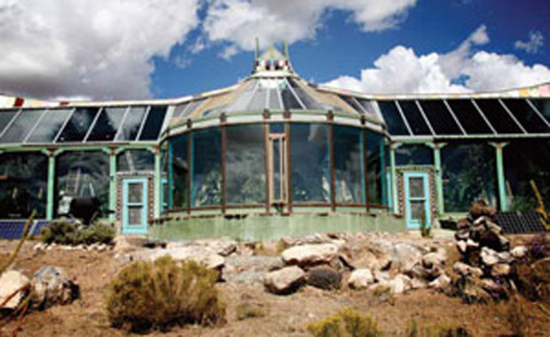 Arizona Earthship Home